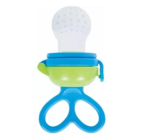 Alimentador Para Bebê - Porta Frutinha E Legumes Buba Baby Cor - Azul