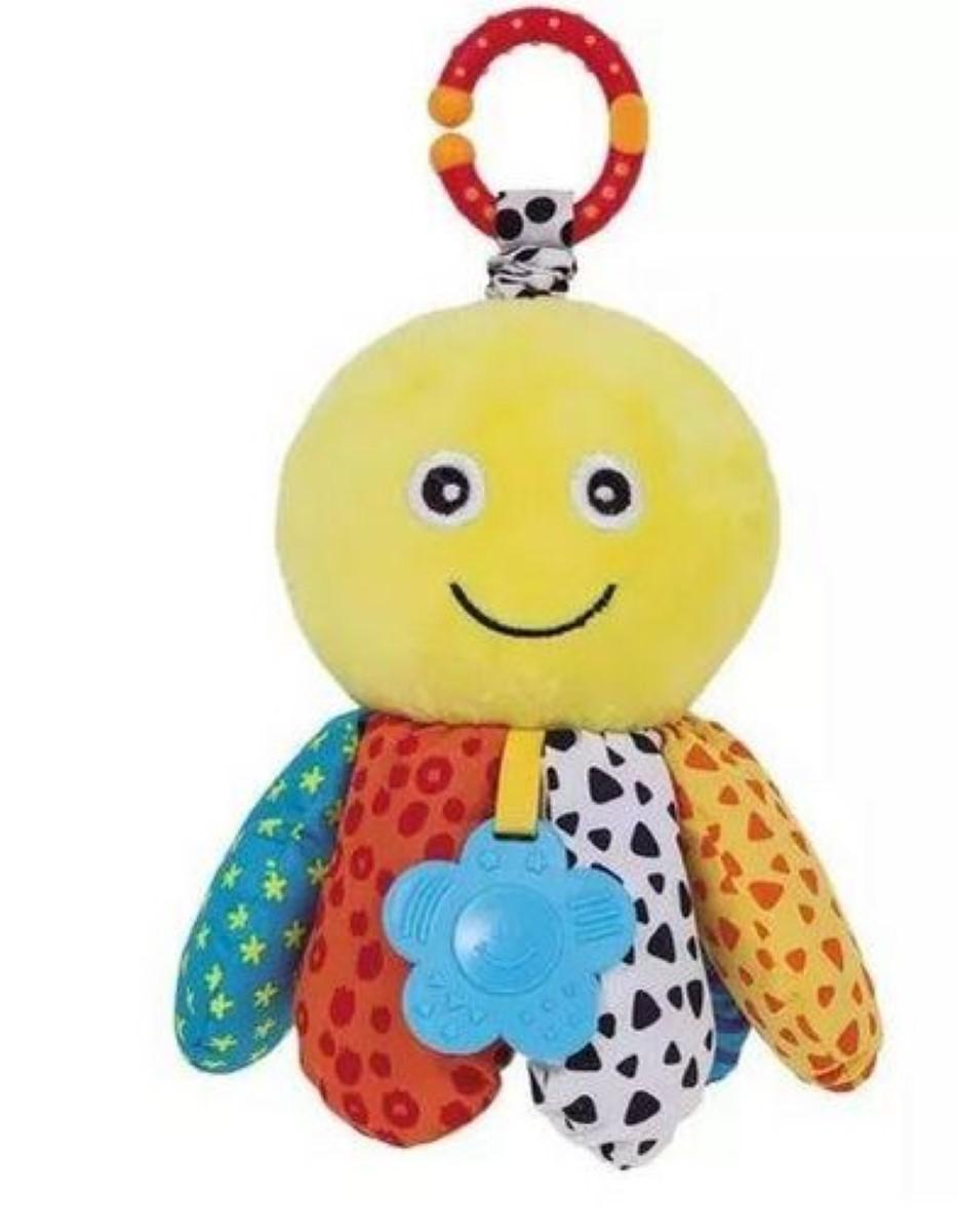 Brinquedo De Pelúcia Polvinho Treme Treme C Mordedor Buba