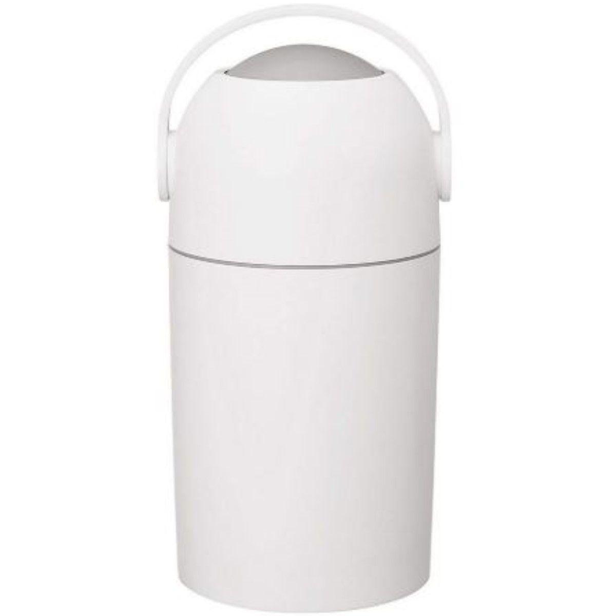 Lixo Magico Ate 20 Fraldas Lixeira Com Sistema Anti Odor Branco Ambiente Cheiroso E Saldavel Para O Bebe Kababy.