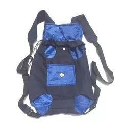 Mochila Canguru Para Caes Bagdog Bolsa Transporte Cachorros Bolsa Frontal Mochila Canguru Para Caes Cachorros Azul P.
