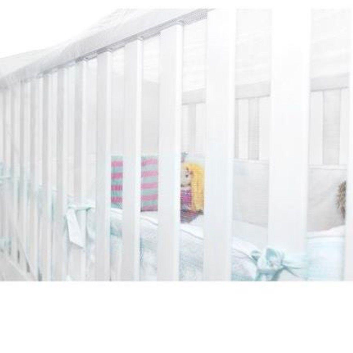 Mosquiteiro Tela Para Berco Com Elastico Protege O Bebe Crianca Contra Os Mosquitos E Outros Unisex Insetos Kababy.