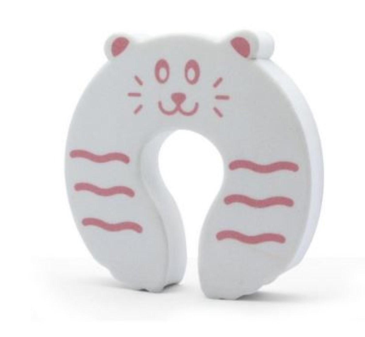 Protetor de Dedos Para Porta Bichinhos e Assento Redutor Sanitario Para criança Rosa Kababy