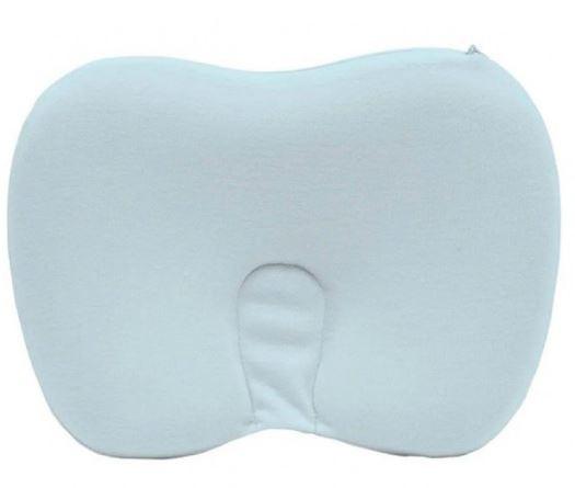 Travesseiro De Bebês Anatômico Viscoelástico azul Buba