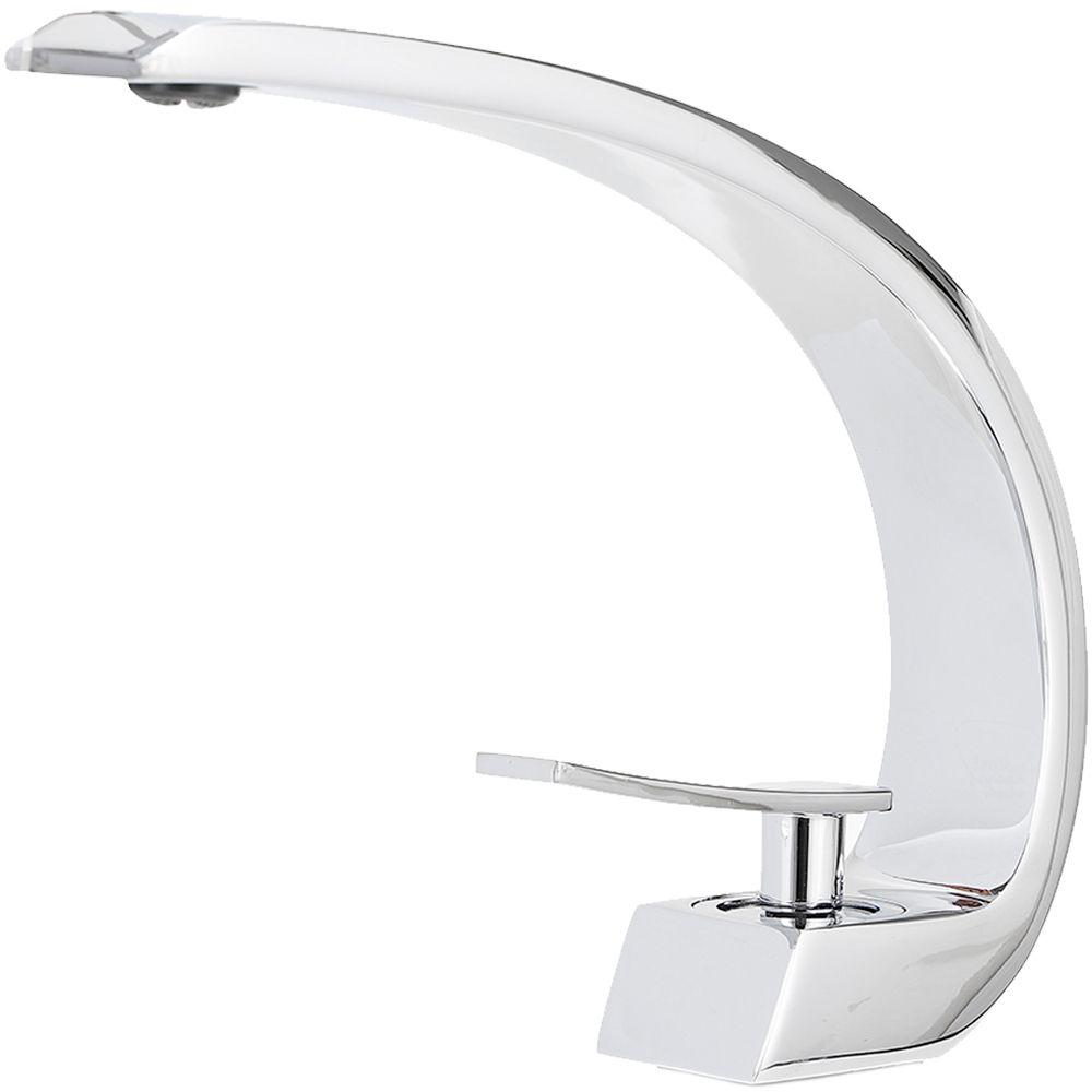 Torneira para banheiro Misturador Monocomando baixa Itapecuru Pingoo.casa - Cromado
