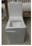 Vaso sanitário Monobloco Topázio Pingoo.casa - Cinza