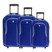 Conjunto Malas de Viagem Batiki Rodinhas e Cadeado Azul