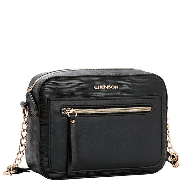 Bolsa Chenson Tiracolo Pequena Preta