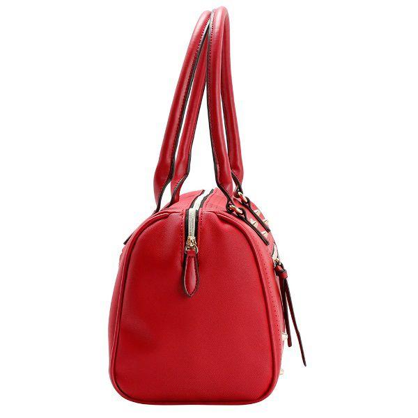 Bolsa Feminina Chenson Perfuros Vermelha