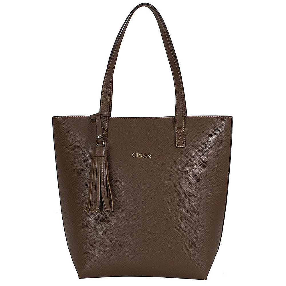Bolsa Feminina Shopping Classe Couro Elegante