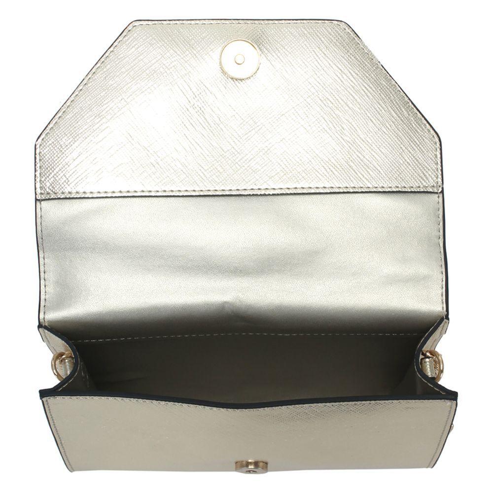 Bolsa Mini Lateral WJ Dourada