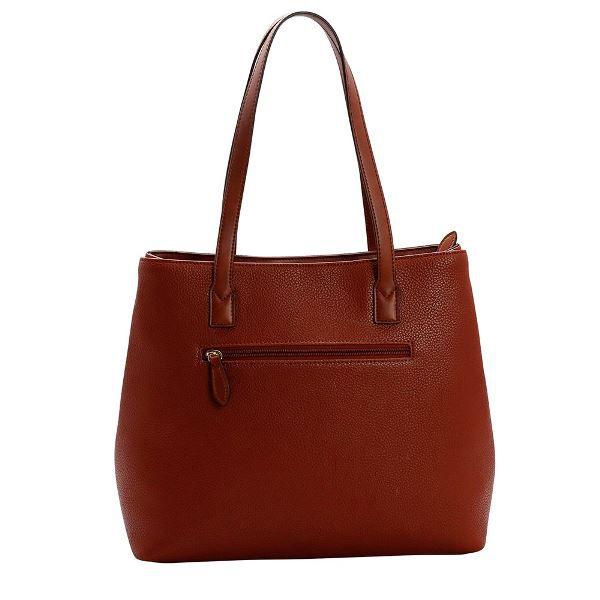 Bolsa Shopping Chenson Marrom