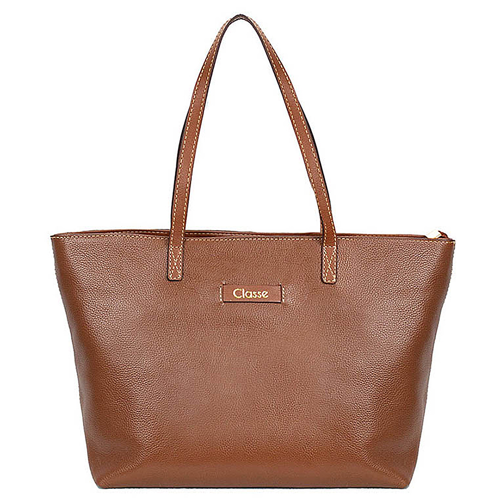 Bolsa Shopping Feminina Classe Couro Clássica