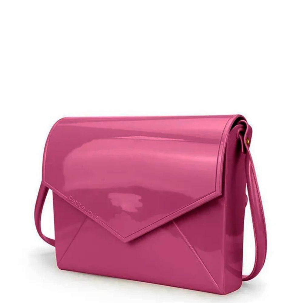 Bolsa Transversal Petite Jolie Flap Rosa Pink
