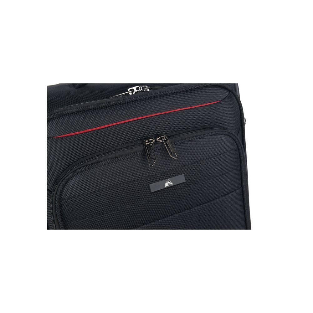 Mala de Viagem P Polo King Porta Notebook Preta Super Leve
