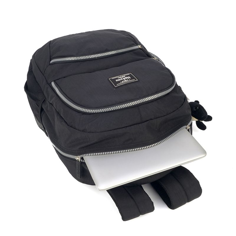 Mochila Escolar Tactel Up4you Notebook Roxa