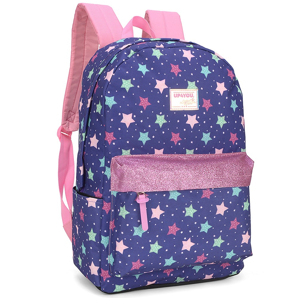 Mochila Feminina Escolar UP4You Larissa Manoela