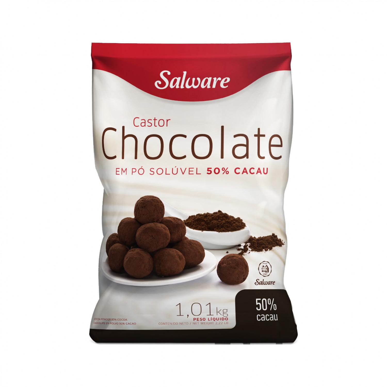 CHOCOLATE EM PÓ 50% CACAU PACOTE 1,01KG