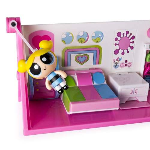 Meninas Super Poderosas - Playset 2 Em 1 Laboratorio e Quarto