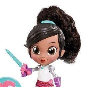 Boneca - Nella Uma Princesa Corajosa - Estilosa Cavaleira Nella