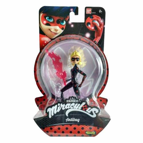 Boneca Antibug 15 Cm - Miraculous - Original Bandai