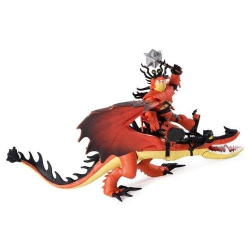 Como Treinar Seu Dragão 3 - Boneco Viking E Dragão - Sunny
