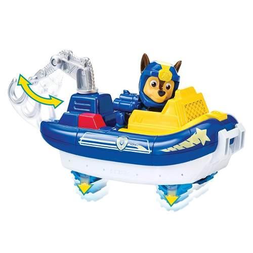 Chase - Patrulha Canina - Veiculo Marinho Com Figura - Sunny