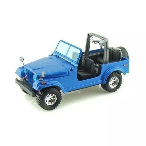 Jeep Wrangler - Azul - Burago - Escala 1/24