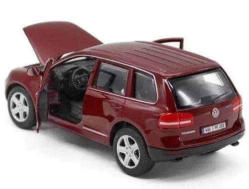 Volkswagen Touareg - Bordo - Burago - Escala 1/24