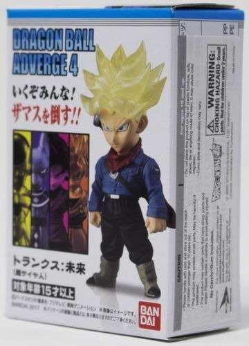 Dragon Ball - Adverge 4 - Trunks Do Futuro - Bandai