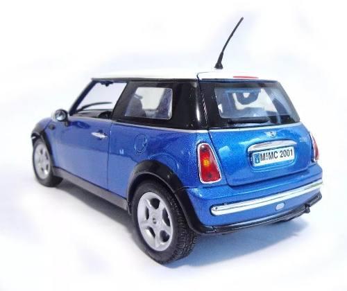 Mini Cooper - Azul - Escala 1:18 - Motormax