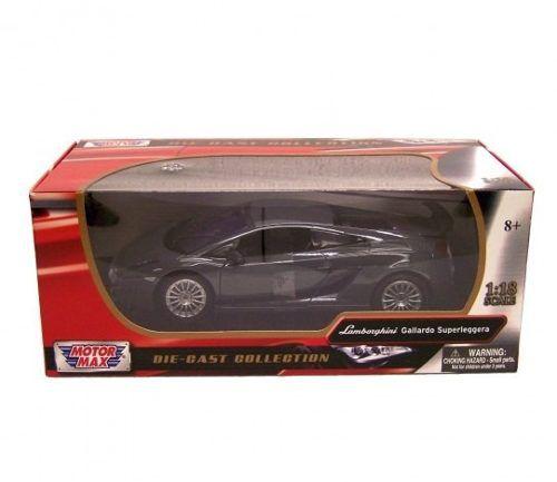 Lamborghini - Gallardo Superleggera - Cinza - 1:18 Motormax