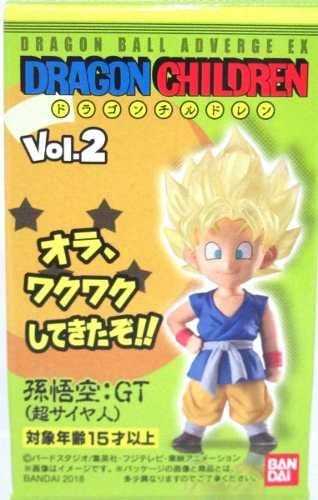 Dragon Ball - Adverge Ex Children Vol.2 - Son Goku Super Saiyajin - Bandai