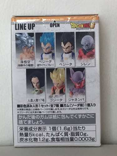 Dragon Ball - Adverge 6 - Super Saiyajin Gogeta - Bandai