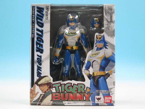 S.h. Figuarts - Tiger E Bunny - Wild Tiger Top Mag - Bandai