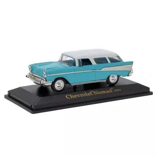 Chevrolet - Nomad Azul (1957 ) - Yat Ming 1/43