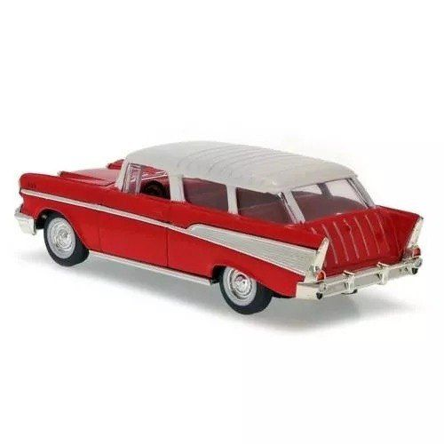 Chevrolet - Nomad Vermelho ( 1957 ) - Yat Ming 1/43