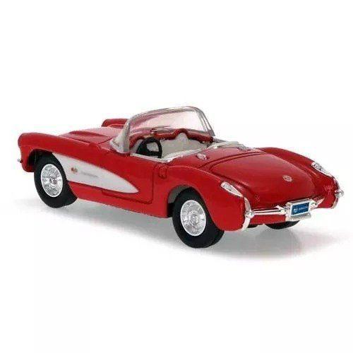 Chevrolet - Corvette Vermelho (1957) - Yat Ming 1/43