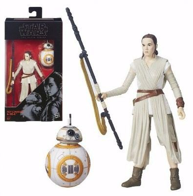 Star Wars The Black Series Rey (jakku) E Bb-8 ( Hasbro ) # 02
