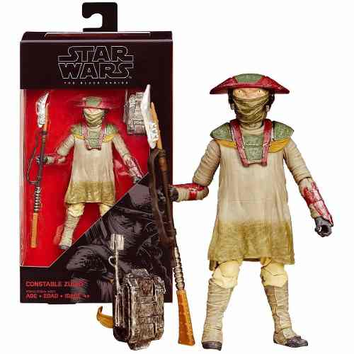 Star Wars - The Black Series - Constable Zuvio ( 09 ) - Hasbro