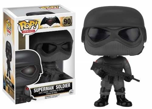 Boneco Funko Pop -  Batman V Superman 90 - Superman Soldier