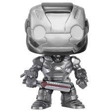 Boneco Funko Pop -  War Machine 128 - Marvel