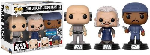 Funko Pop - Star Wars Pack 3 - Lobot, Ugnaught E Bespin Guard