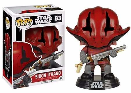 Funko Pop - Star Wars - Sidon Ithano 83 - Original