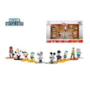 Disney Nano Metalfigs - 10 Bonecos - Mickey, Minnie E Etc