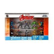 Marvel Nano Metalfigs - 10 Bonecos - Avengers ( Vingadores )