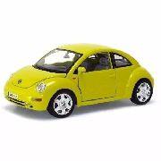 Volkswagen - New Beetle - 1998 - Amarelo - Burago Escala 1/18