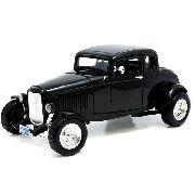 1932 Ford - Five-window Coupe - Escala 1:18 - Motormax