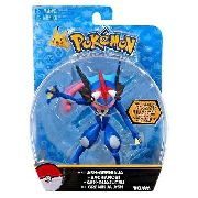 Pokemon- Boneco Ash Greninja 15 Cm Articulado - Original Tomy