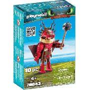 Playmobil - Como Treinar Seu Dragão 3 - Melequento - 10 Pcs