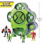 Ben 10 Playset - Câmara De Criação Alien + 4 Boneco Original